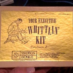 1972 Your Executive WHITTLIN' KIT